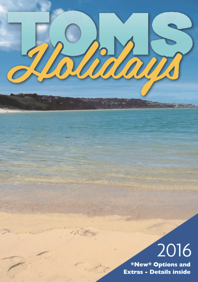Toms Holidays 2016