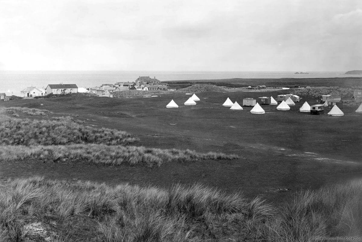 1927 Camping in West Cornwall