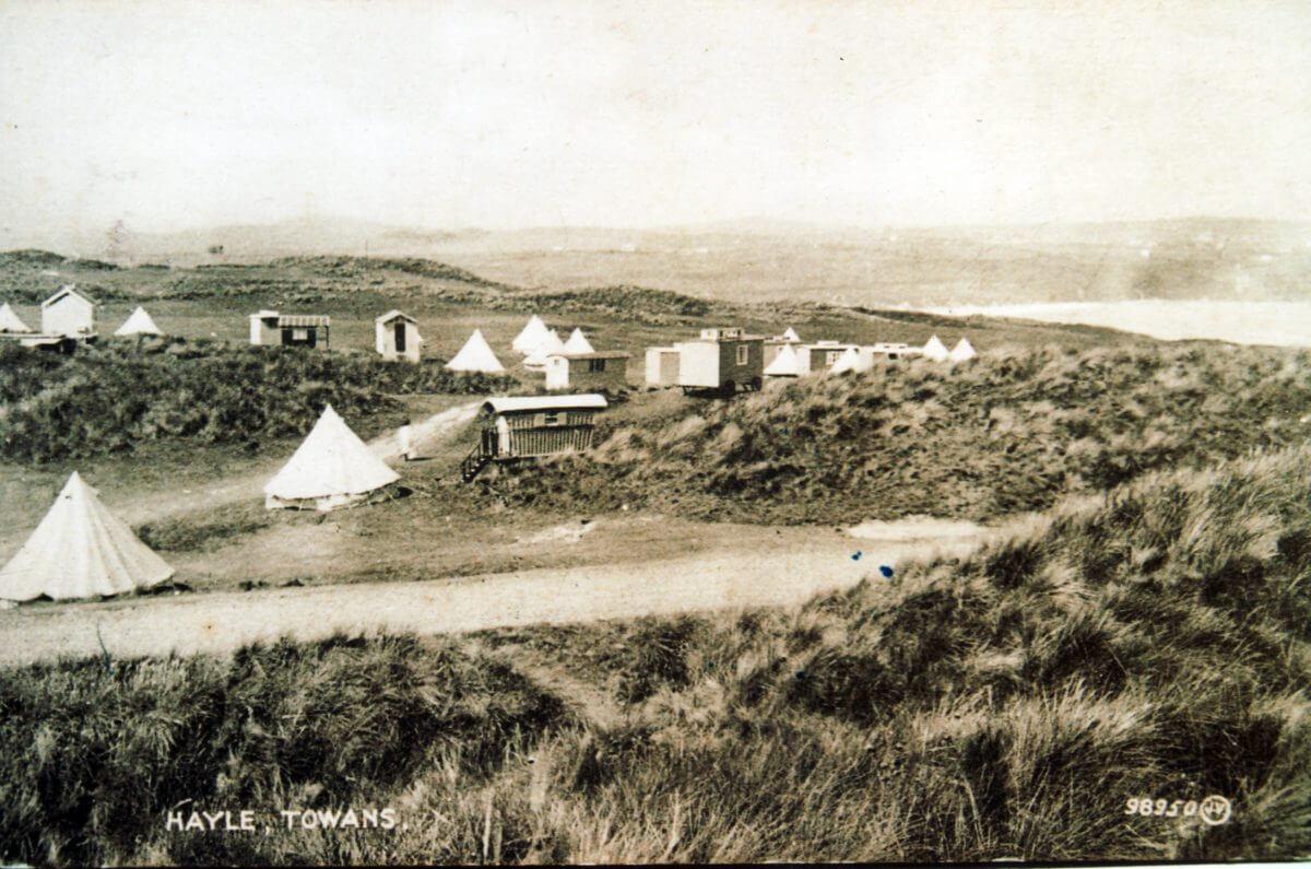 Riviere Towans Campsite 1926