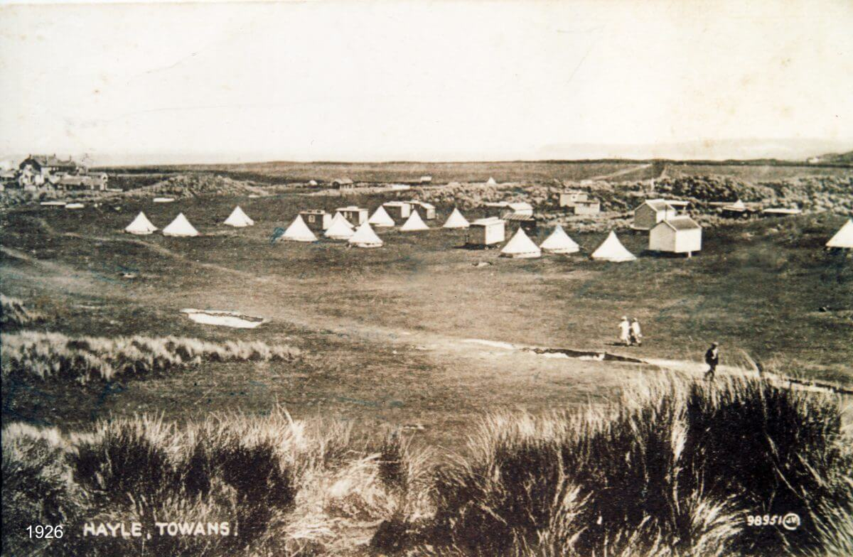 Camping in Cornwall 1926