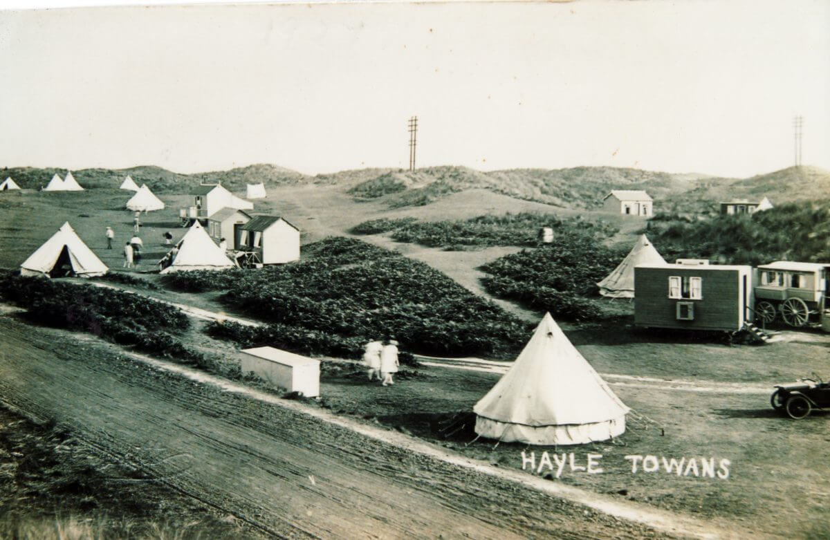 Camping on the Towans 1926