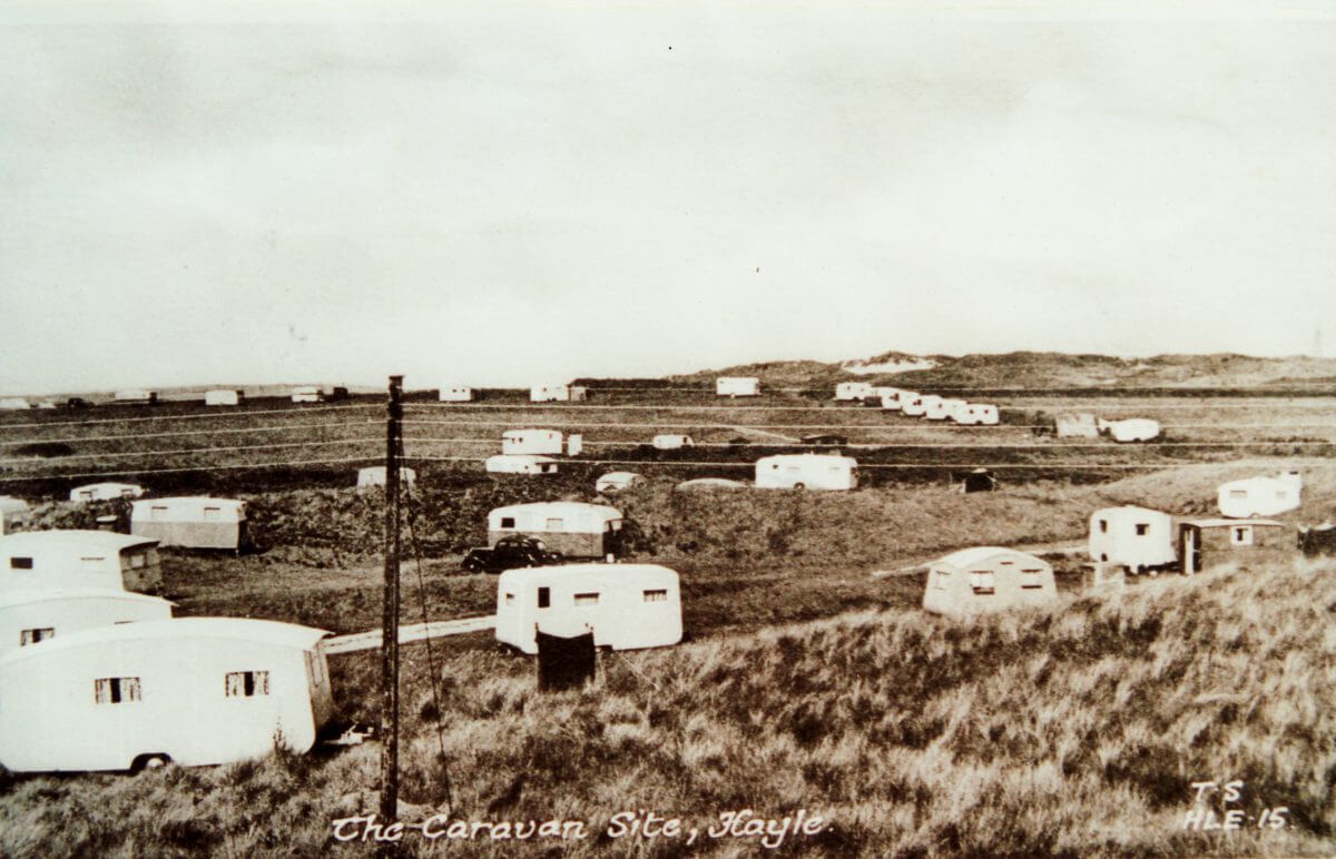 Early Caravanning West Cornwall