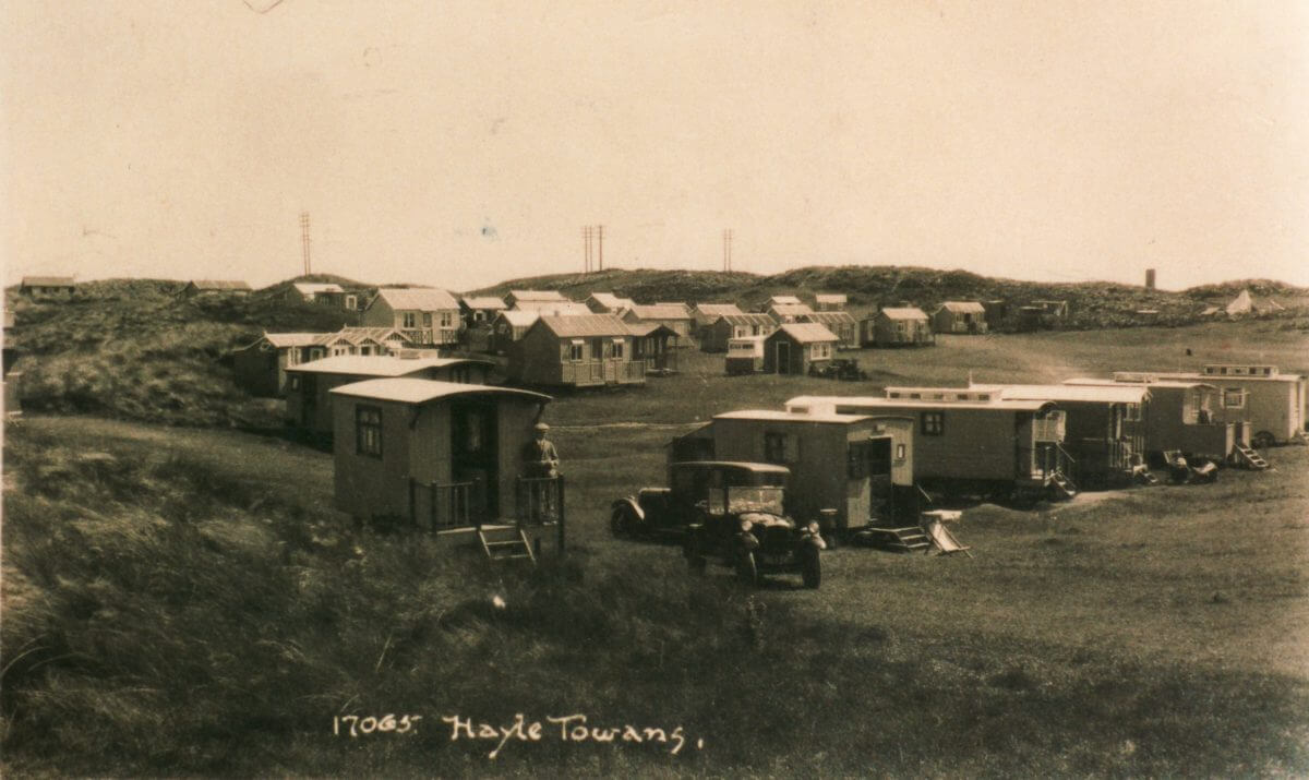 Chalets in Cornwall 1932