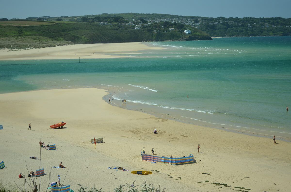 St Ives Bay Beach