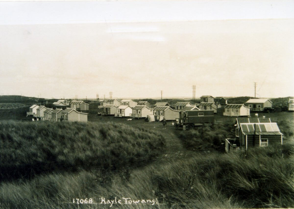 Hayle Chalets in 1932