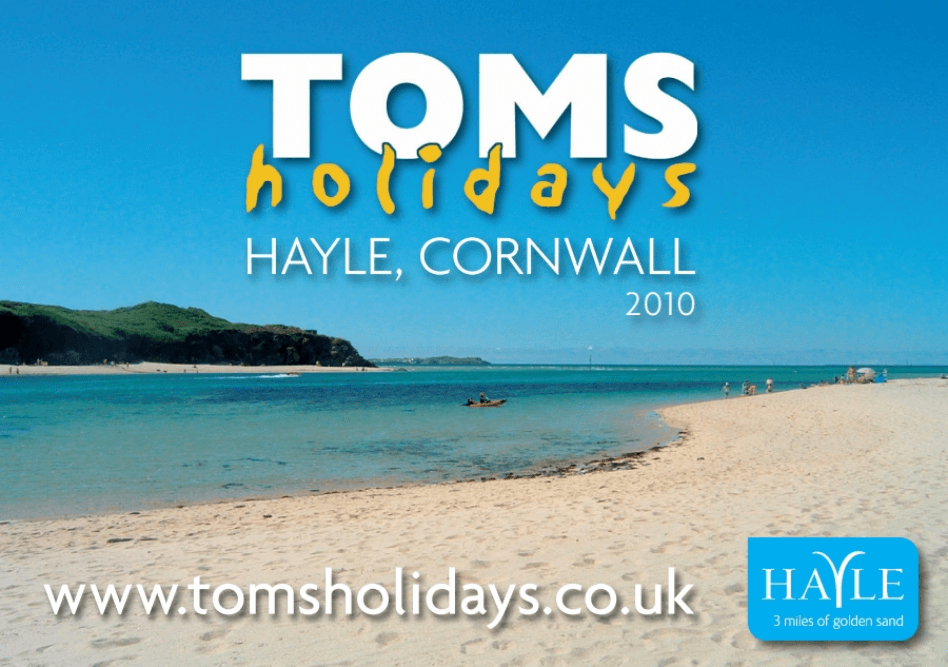 Toms Holidays Hayle Cornwall